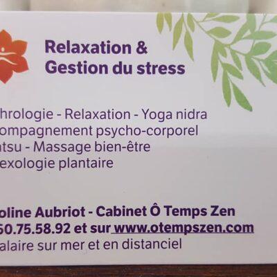 Sophrologie / Relaxation / Gestion du stress / Réflexologie plantaire 83240 Cavalaire sur mer