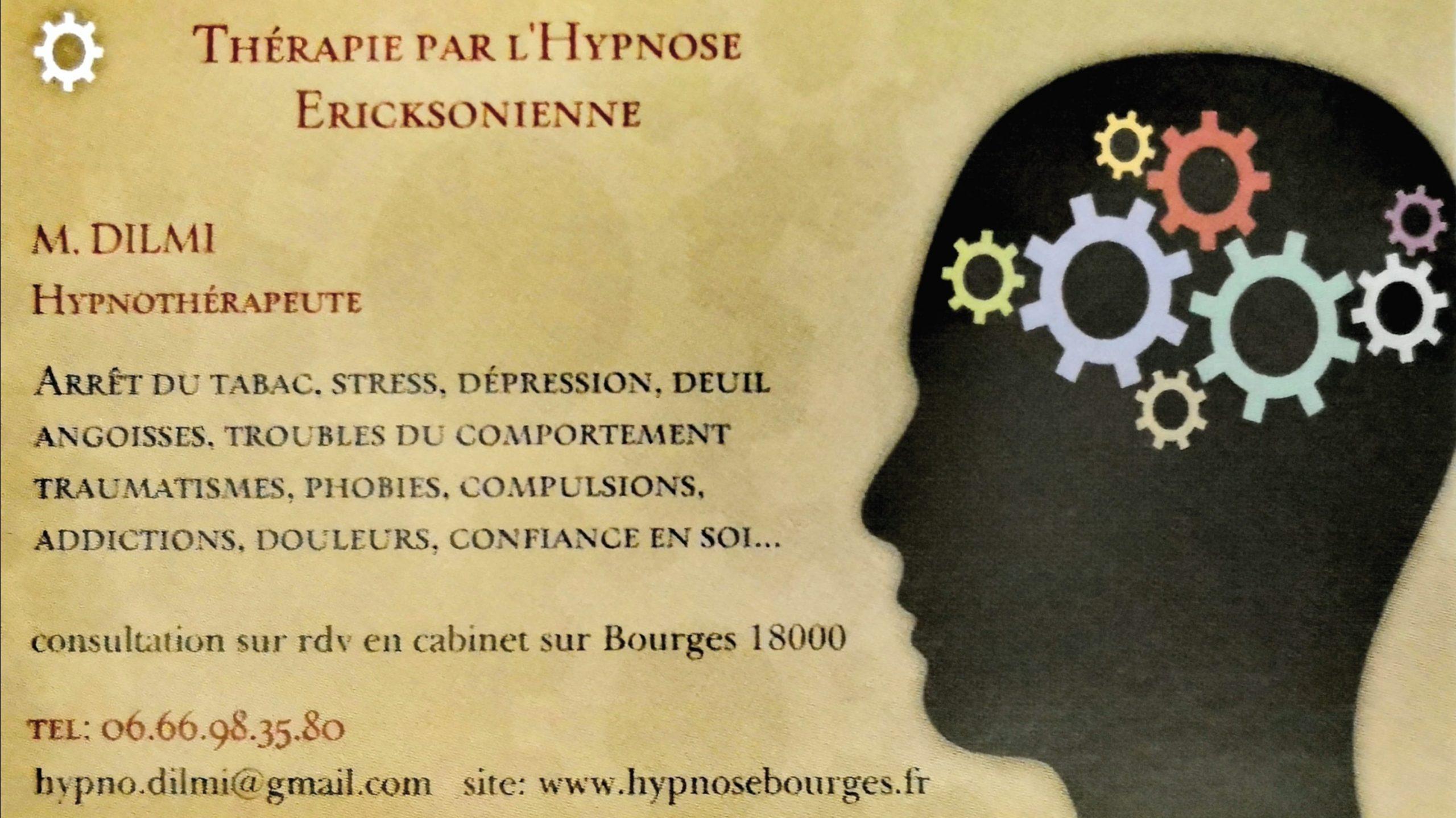 Praticien en Hypnose Ericksonienne - Hypnothérapeute – Bourges (18)