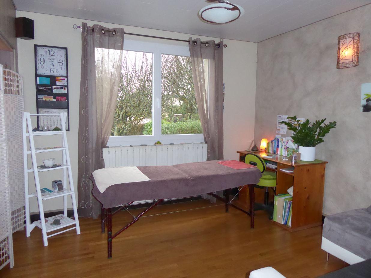 Kinésiologue et praticienne en TNC (Technique Neuro-Cutanée), / ECOLE-VALENTIN – séances à domicile possible.
