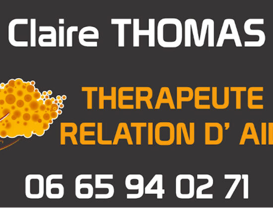 Claire THOMAS-Thérapeute en Relation d'Aide/TRA-ANDC *** Enfant-Parent-Couple-Famille-Deuil *** Consultations à CHOLET (dans le 49 et proche du 44, 79, 85, de Nantes et Angers) OU en ligne (Zoom ou Téléphone)