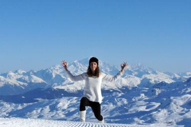 Ski et yoga, le duo gagnant de l'hiver