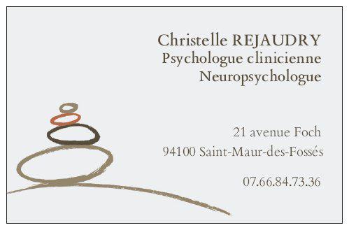 Christelle REJAUDRY, psychologue / neuropsychologue – Saint-Maur-des-Fossés