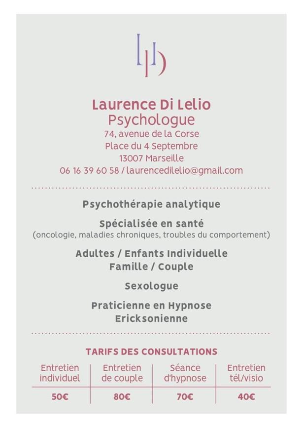Psychologue clinicienne à Marseille