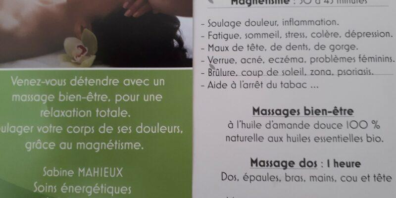 Magnétiseur – Massage bien-être énergétique à Maubec