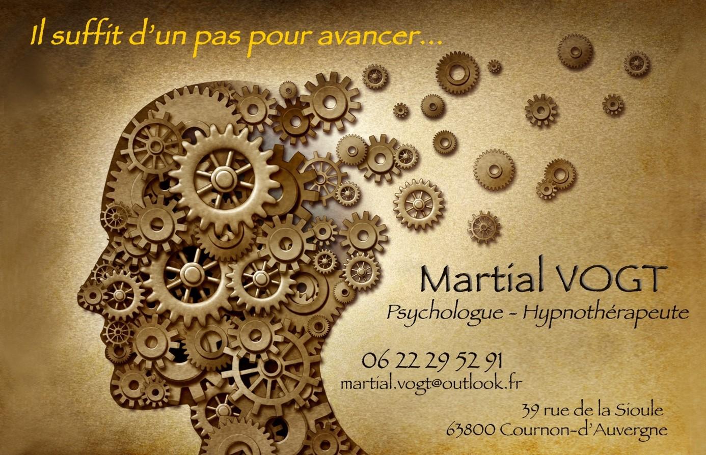 Martial VOGT – Psychologue à Cournon-d'Auvergne