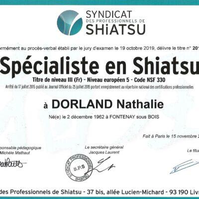 Spécialiste en Shiatsu (région Orléans)