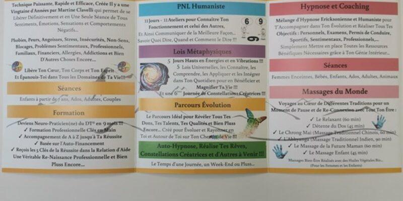 Ambassadrice et Praticienne du DT®, Coach et Praticienne en Hypnose Ericksonienne et humaniste et Praticienne en Massage du monde, Saint- Jean De MAURIENNE