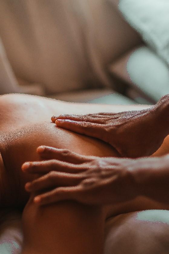 Une séance de massage
