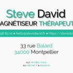 Steve DAVID, magnétiseur thérapeute à Montpellier