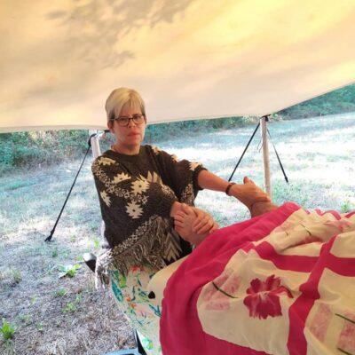 Praticienne en massage bien-être, Accompagnatrice de l'éveil de l'âme
