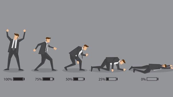 Le burnout est un épuisement professionnel très important